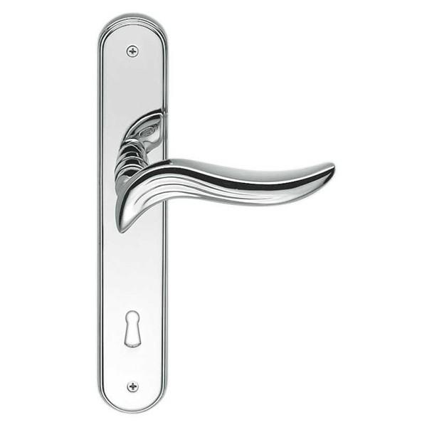 Colombo Design - Maniglia Per Porta Con Placca - Piuma AR11-P