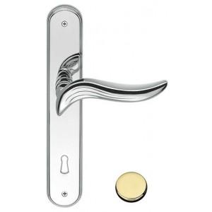 Maniglia Per Porta su Placca - Colombo Design - Piuma - AR11-P