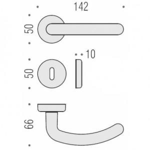 Maniglia Per Porta - Colombo Design - Star CD01-R