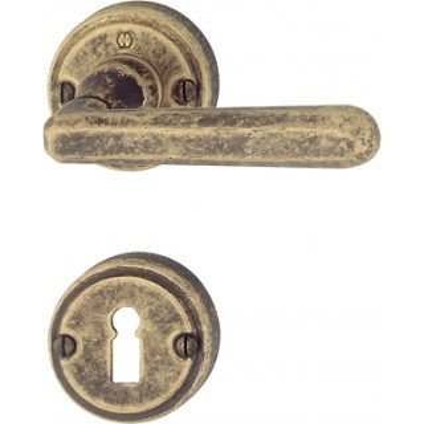 Hoppe - Maniglia Per Porta - Serie Basel - M159/15K-2/15KS-2