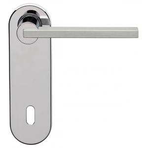 Ghidini - Maniglia Per Porta su Placca - Galileo Q8-P