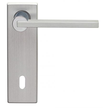 Ghidini - Maniglia Per Porta su Placca - Galileo Q8-PQ