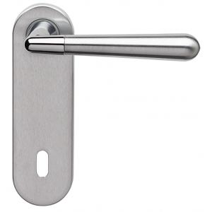 Ghidini - Maniglia Per Porta su Placca - Ginevra Q8-P