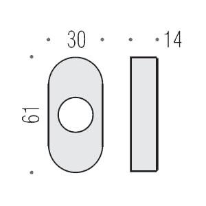 Colombo Design - Rosetta Stretta in Ottone - CD73RS