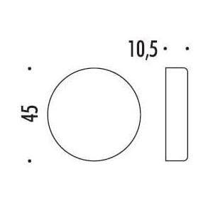 Colombo Design - Bocchetta Tonda Cieca - CD63SFC
