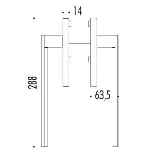 Colombo Design - Maniglioni Per Alzante Scorrevole - LC513-Y