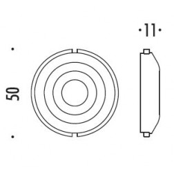 Colombo Design - Undercostruction For Lever Handle - PB03
