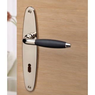 Ghidini - Door Handle on Plate - R744 QB-P