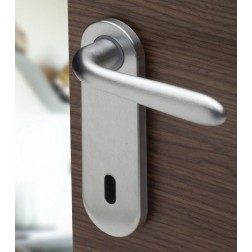 Ghidini - Door Handle on Plate - Uno Z QB-P