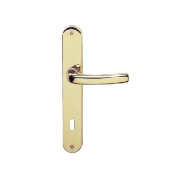 Ghidini - Maniglia Per Porta su Placca - Ely Q8-P