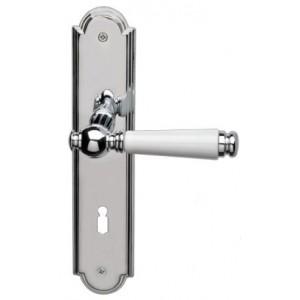 Ghidini - Maniglia Per Porta su Placca - R984 Q8-P