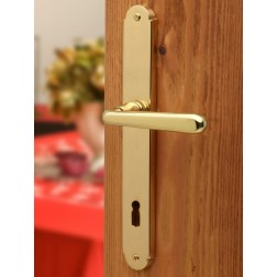 Ghidini - Door Handle on Plate - Tirol QB-P