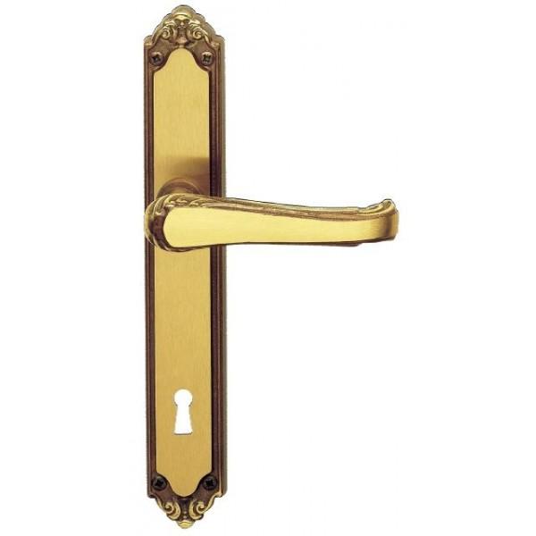 Ghidini - Maniglia Per Porta su Placca - Lady Q8-PQ