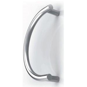 Tropex Design - Maniglione Nero/Bianco Per Porta - Serie 3P