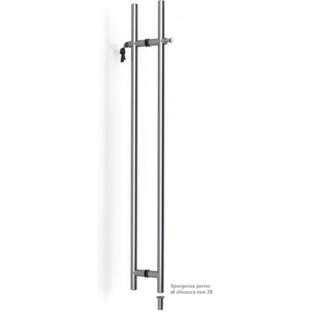 Tropex Design - Pair steel  Pull Handle With Lock - CH32 Series