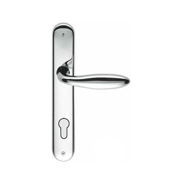 Maniglia Per Porta su Placca - Colombo Design - Mach - CD81-P
