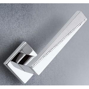 Arieni - Maniglia Per Porta Con Swarovski - Serie Boemia 2301
