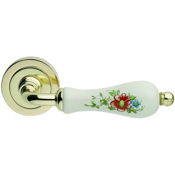 Door Handle -  Apro - Flora - Made In Italy