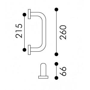 Arieni - Maniglione Per Porta - Serie Stile 940/E