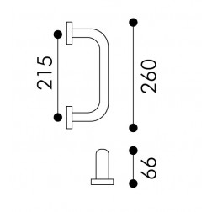 Arieni - Square Pull Handle - Stile Series 940/E