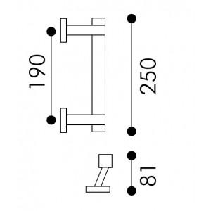 Arieni - Square Pull Handle - Margherita Series 992