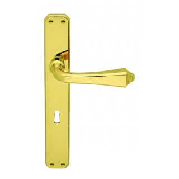 Antologhia - Door Handle With Plate - Bellagio  KBE11P
