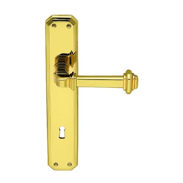 Antologhia - Door Handle With Plate - Busiri KBU11P
